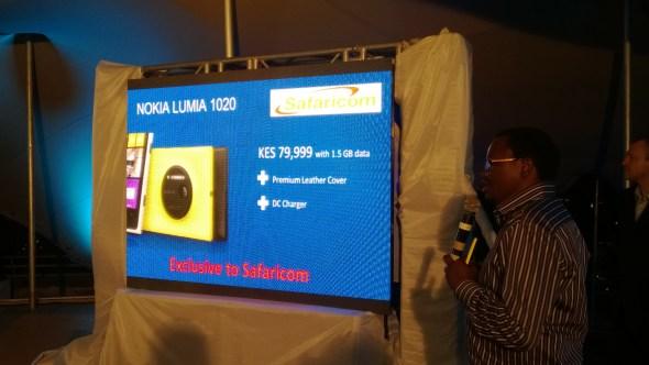 Lumia 1020 Safaricom
