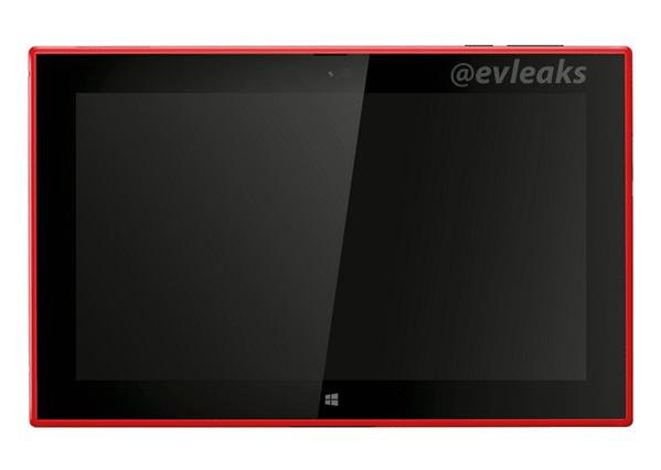 Red Lumia 2520