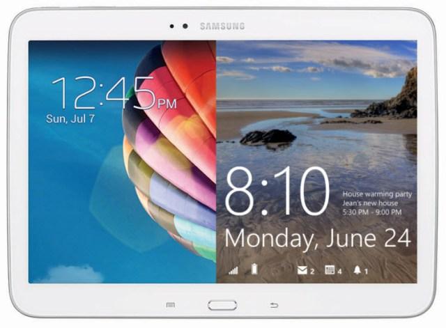 Windows-Android Galaxy Tab render