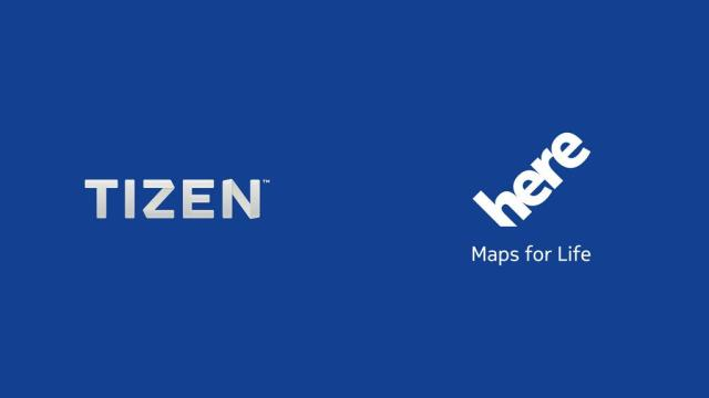 Tizen-HERE Maps