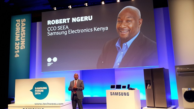 Robert Ngeru Samsung Africa Forum