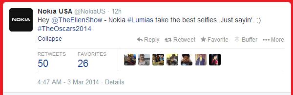 Nokia Oscars 3