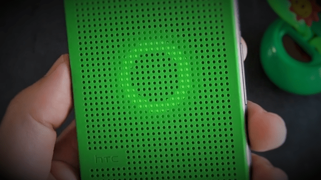 HTC's Dot View Case is compatible with Cortana.