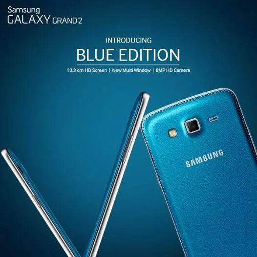 Galaxy Grand 2 Blue