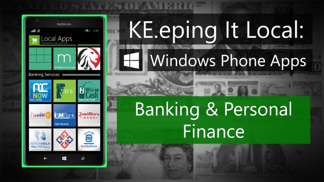 Windows Phone Banking apps kenya