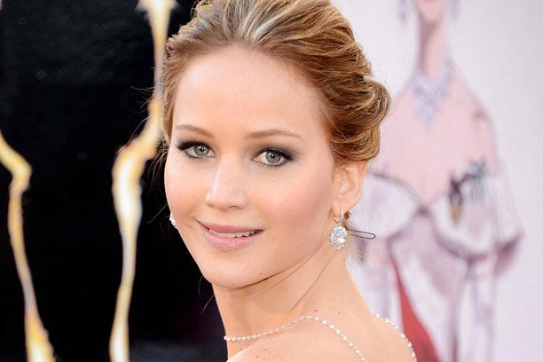 Jennifer Lawrence at a red carpet event
