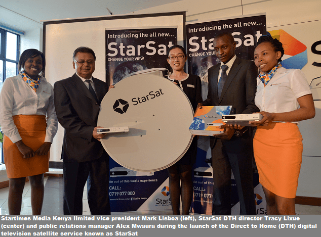 Startimes Introduces StarSat In Kenya