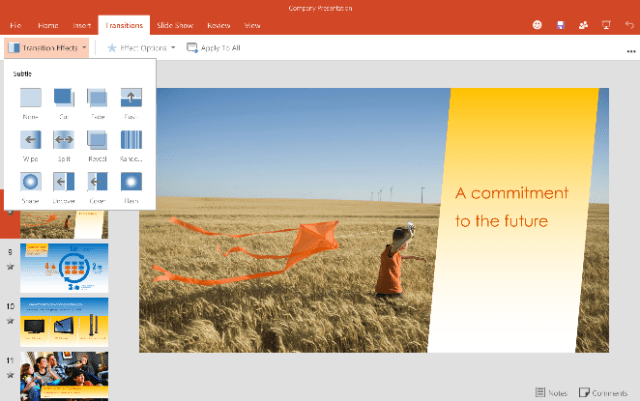 Office for Android Tablet Preview