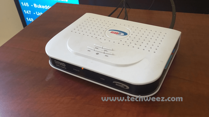 Azam TV Dish