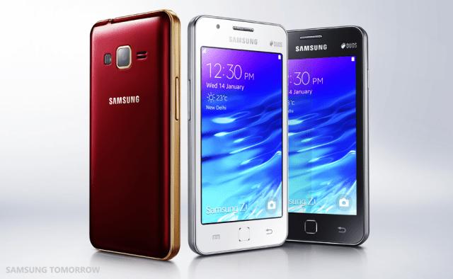 Samsung Z1 Tizen