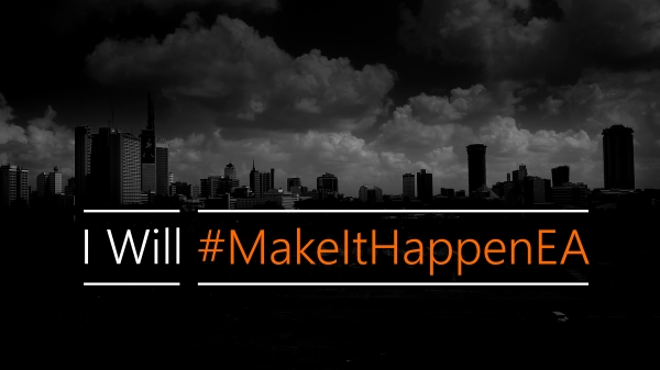 Microsoft's #MakeItHappenEA campaign has reached East Africa.