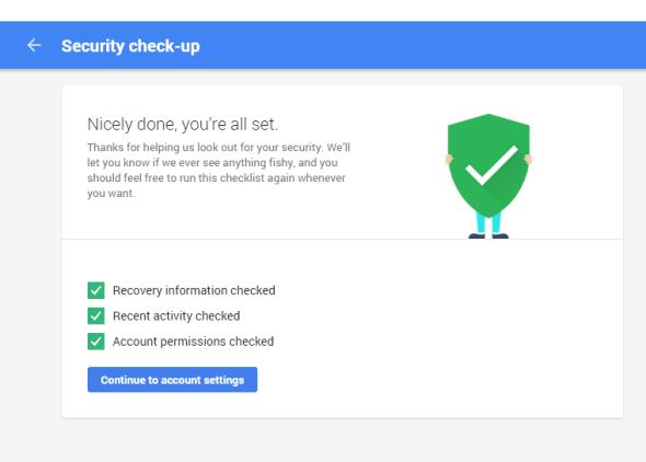 google security check 3