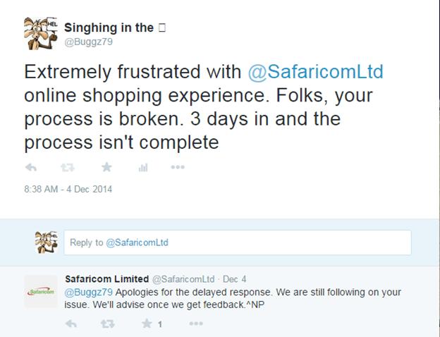 Safaricom care 2