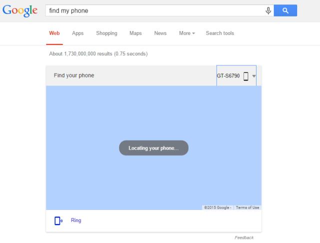 FInd my phone Google