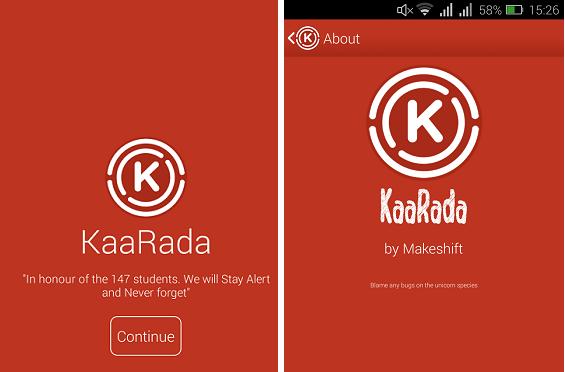Kaa Rada app