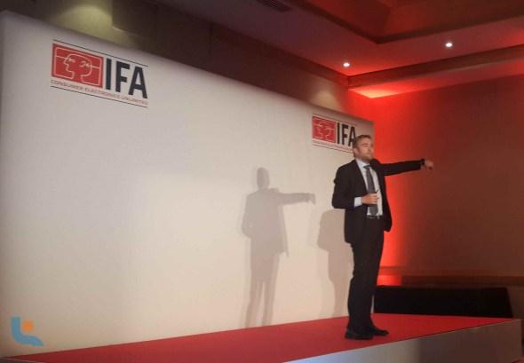 IFA GPC Malta - Haier Power Briefing - Haier Smartwatch - CEO