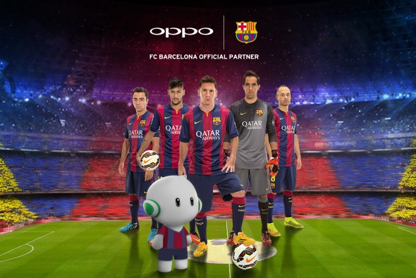 Oppo Barcelona partnership - Techweez