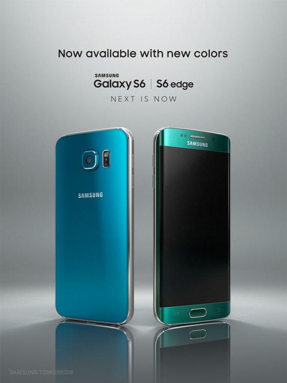Samsung Galaxy S6 Blue Emerald and Green Topaz