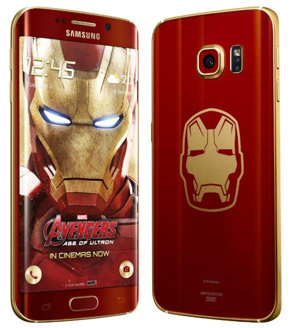 Samsung Galaxy S6 Edge Iron Man Limited Edition 2