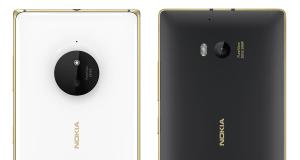 Gold Lumia 930