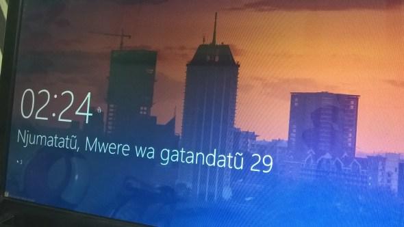 Windows 10 Langauge