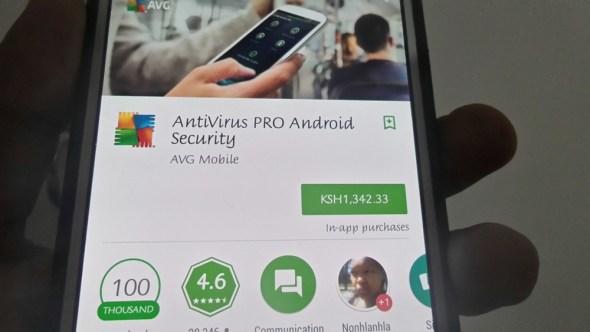 avg antivirus mobile android