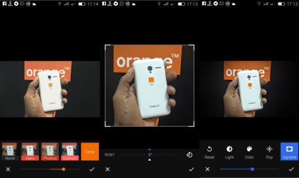 google photos review - photo editing