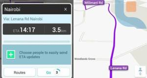 Waze Directions Kenya