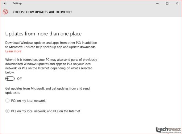 windows 10 update torrent-style - techweez