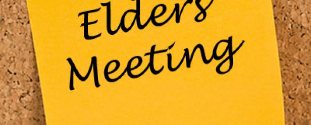 Elders meeting