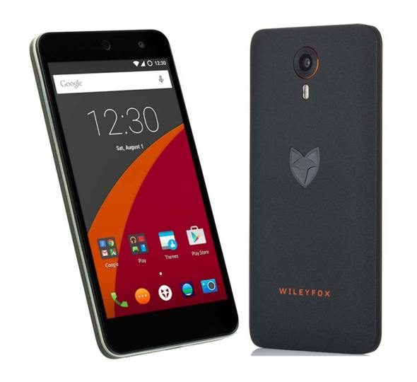The Wileyfox Swift, a Cyanogen OS-powered Android smartphone
