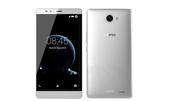 There you have it, the new Infinix Note