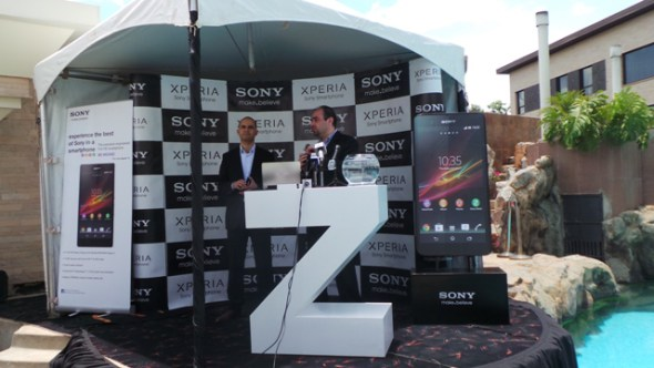 The launch of the Xperia Z in Kenya in March 2013