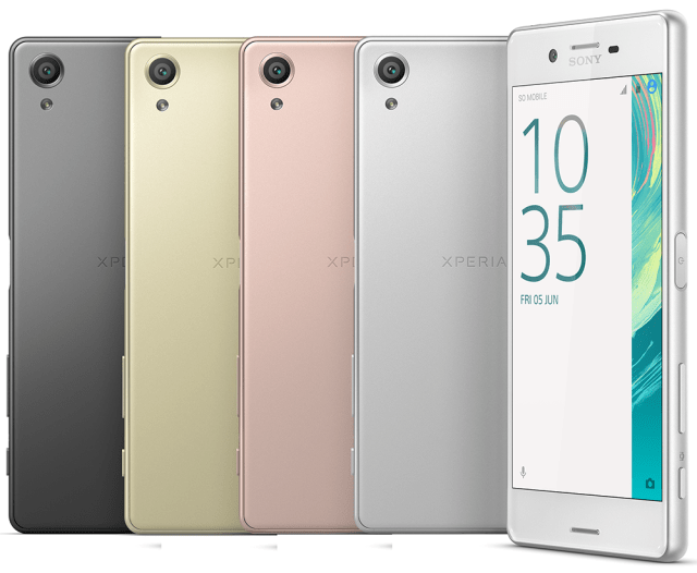 The Xperia X is part of the new X series that is taking the place of the Z series.