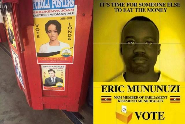 uganda elections posters