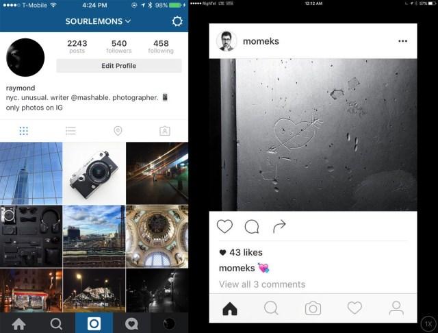 instagram black and white