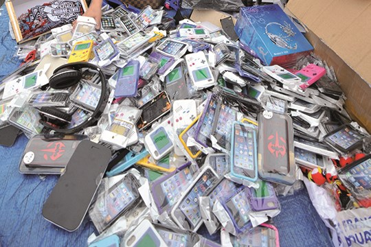 TZ fake phones