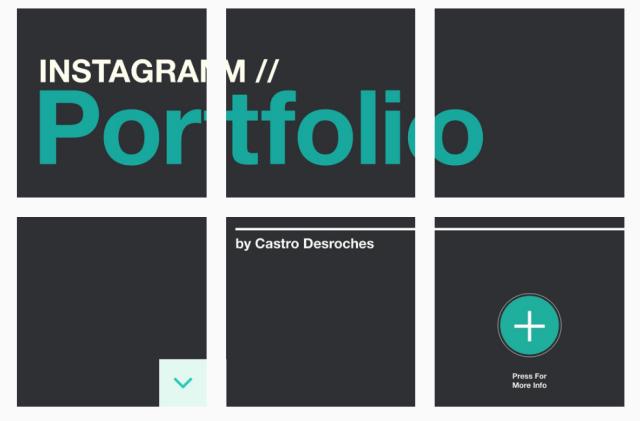 instagram portfolio