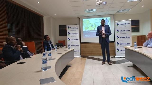 Seven Seas Technologies CEO Mike Macharia