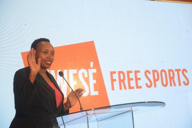 Monica Ndung'u, Kwese Free Sports  General Manager