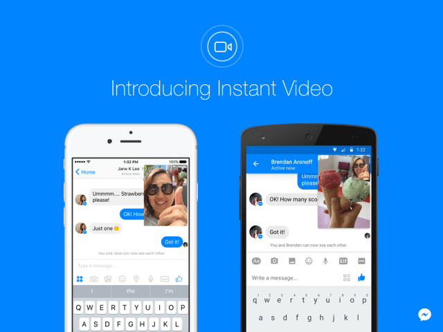 facebook messenger live video