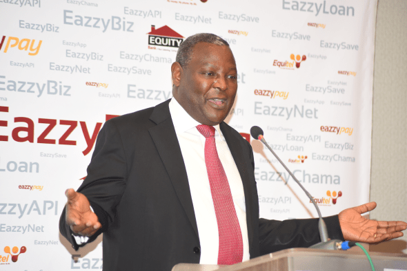 Equity Bank CEO, Dr. James Mwangi