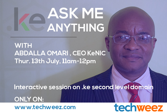 Abdalla Omari KeNIC CEO