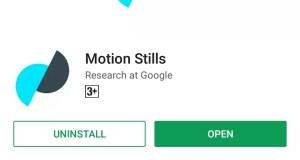 Motion Stills
