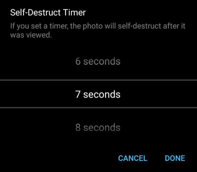 telegram self destruct