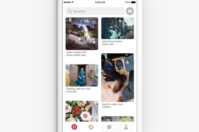 Pinterest's New Update Puts Search First