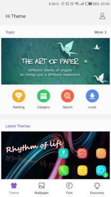 Tecno Phantom 8 Hi Theme