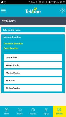 My Telkom App Data