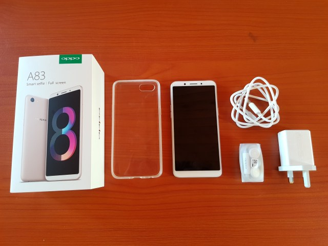 OPPO A83 Unboxing