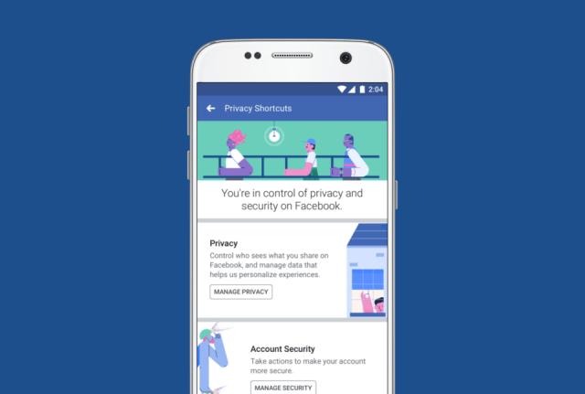 Facebook privacy redesign